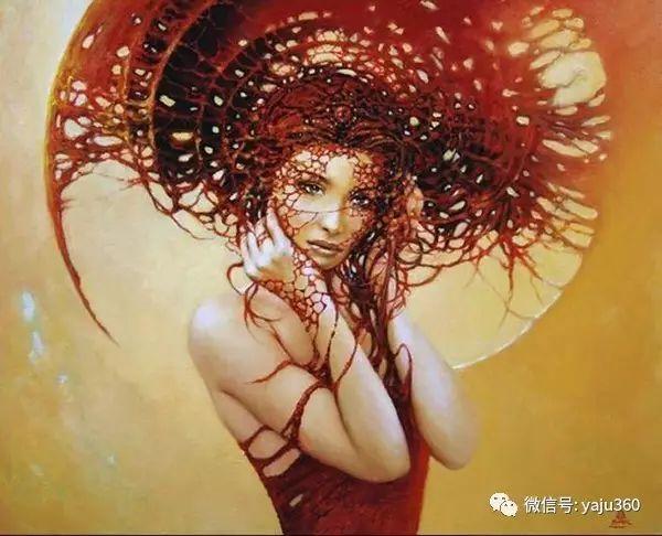 女性之美 波兰艺术家Karol Bak油画作品插图3
