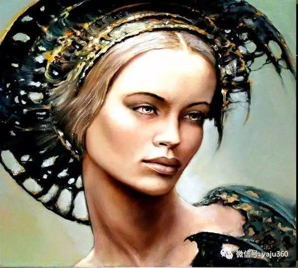 女性之美 波兰艺术家Karol Bak油画作品插图5