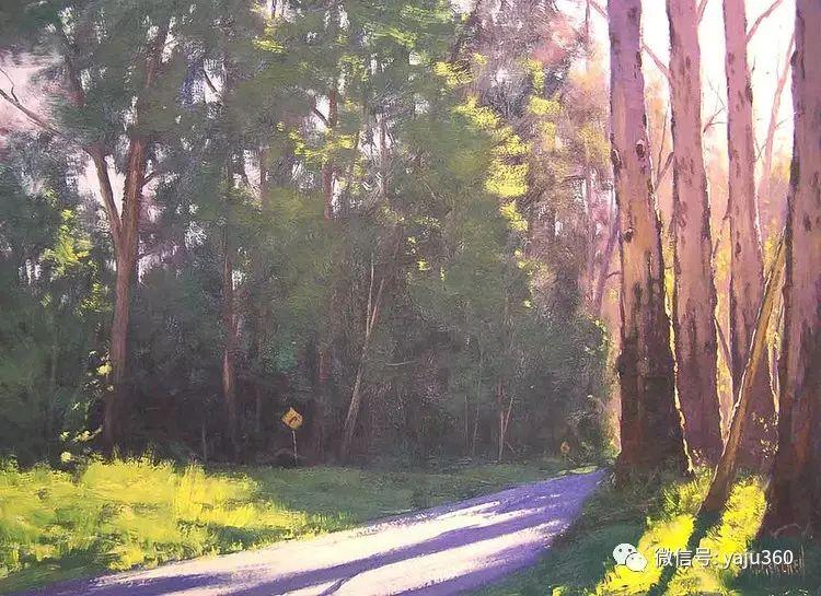乡村风景油画作品插图9