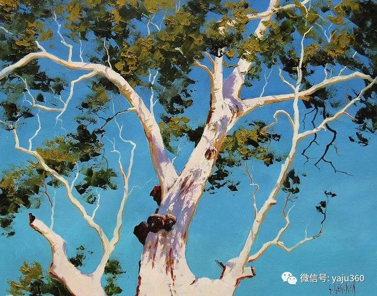 乡村风景油画作品插图13