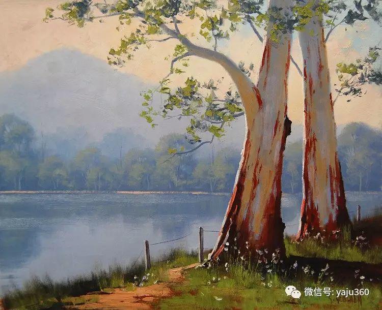 乡村风景油画作品插图21
