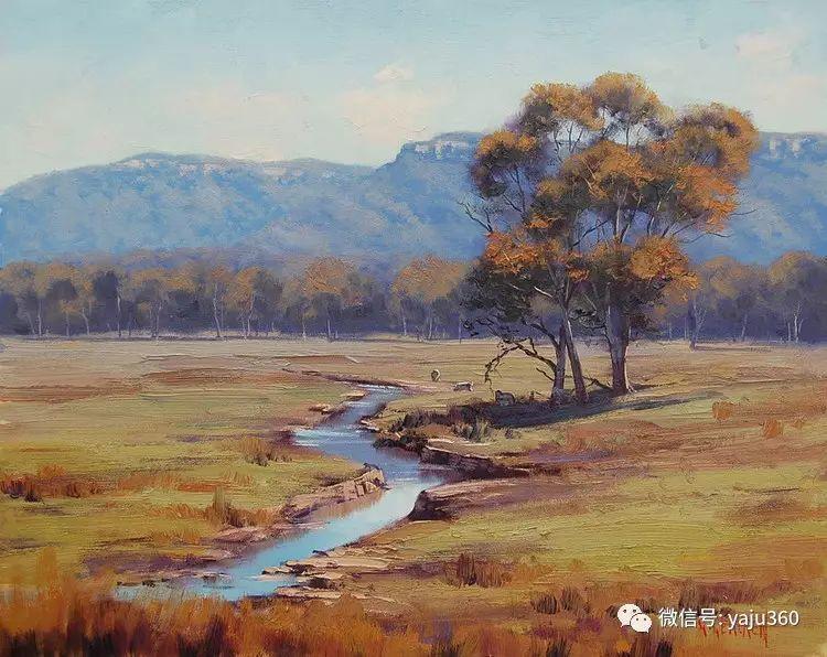 乡村风景油画作品插图27