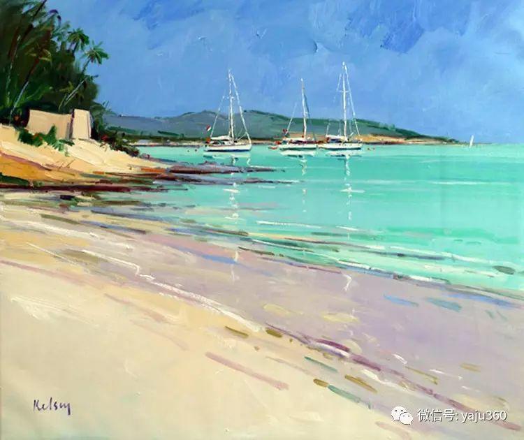 风景油画 英国罗伯特凯尔西作品欣赏插图17