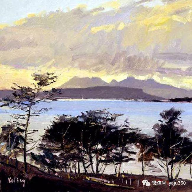 风景油画 英国罗伯特凯尔西作品欣赏插图23