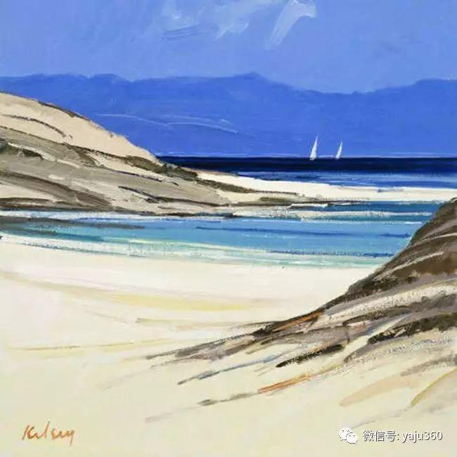 风景油画 英国罗伯特凯尔西作品欣赏插图25