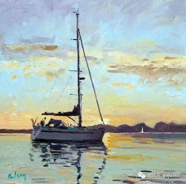 风景油画 英国罗伯特凯尔西作品欣赏插图27