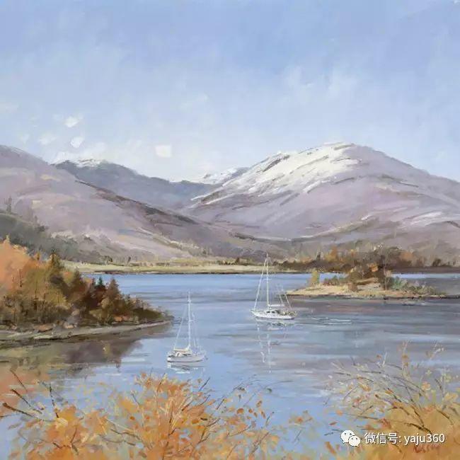 风景油画 英国罗伯特凯尔西作品欣赏插图33