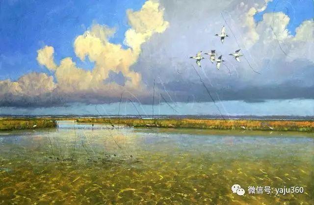 美国阿尔巴恩斯风景画欣赏插图1