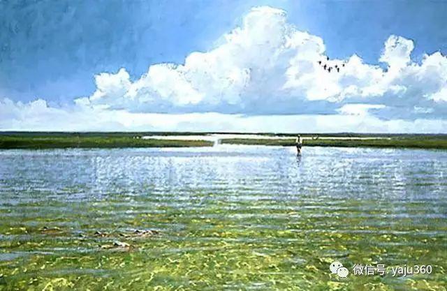 美国阿尔巴恩斯风景画欣赏插图17