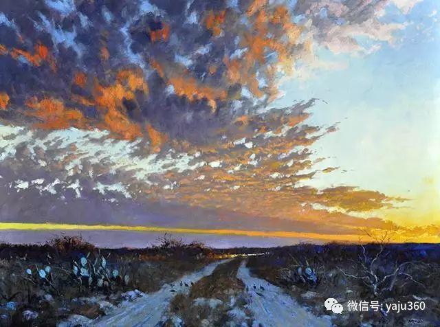 美国阿尔巴恩斯风景画欣赏插图25