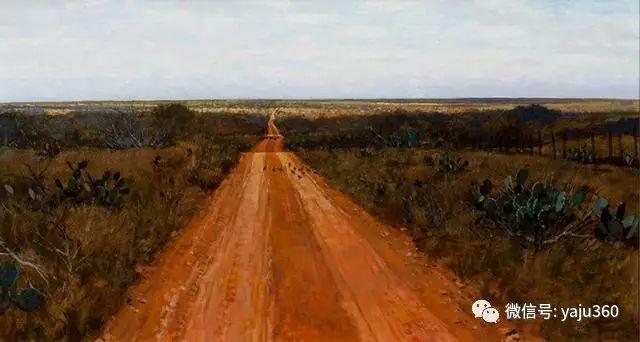 美国阿尔巴恩斯风景画欣赏插图31