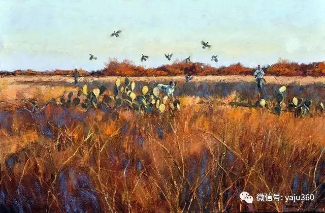 美国阿尔巴恩斯风景画欣赏插图39