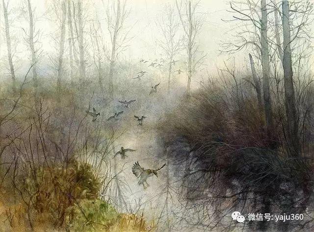 美国阿尔巴恩斯风景画欣赏插图47