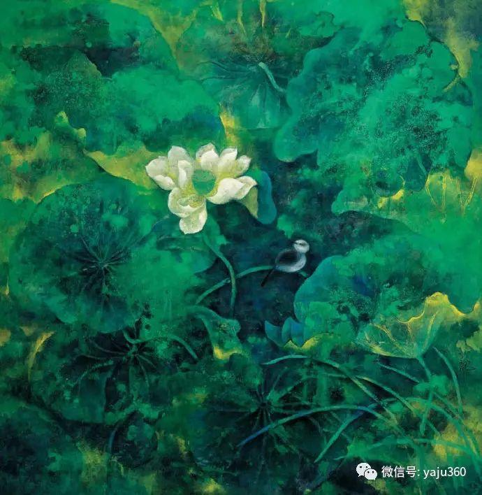 花卉油画 旅英画家蔡小丽作品插图5