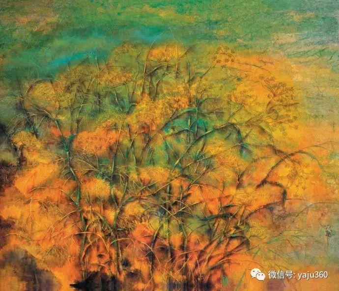 花卉油画 旅英画家蔡小丽作品插图13