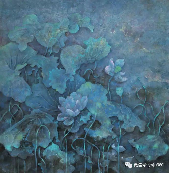 花卉油画 旅英画家蔡小丽作品插图19