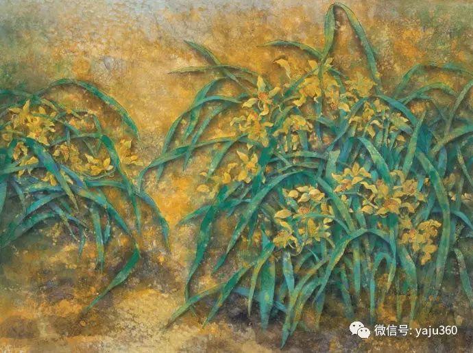花卉油画 旅英画家蔡小丽作品插图21