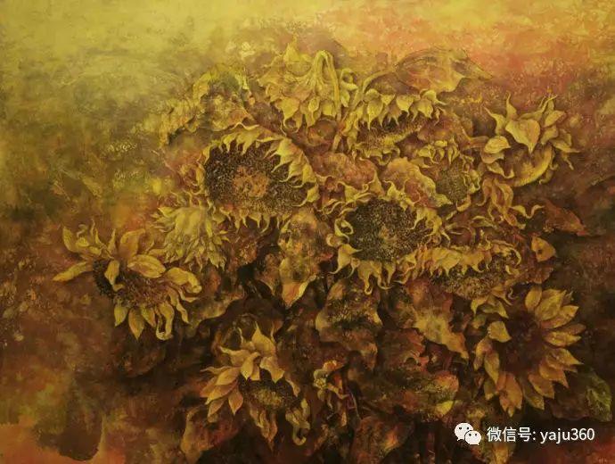 花卉油画 旅英画家蔡小丽作品插图23