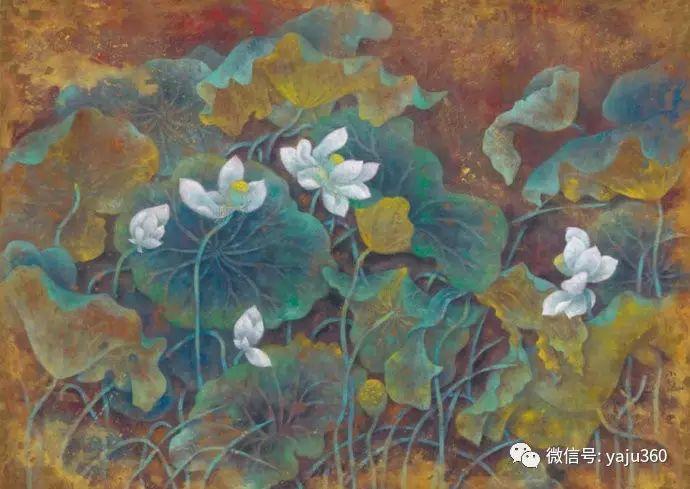 花卉油画 旅英画家蔡小丽作品插图35