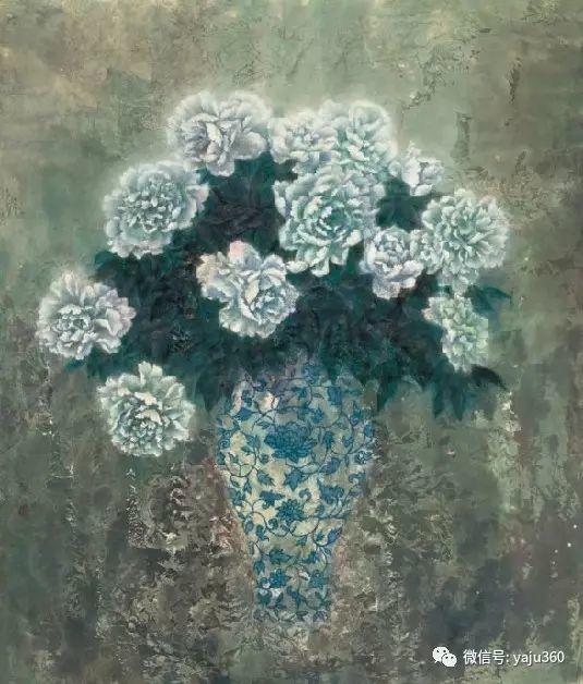 花卉油画 旅英画家蔡小丽作品插图43