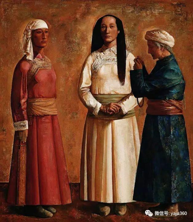 中国美术馆油画藏品赏[五]插图15