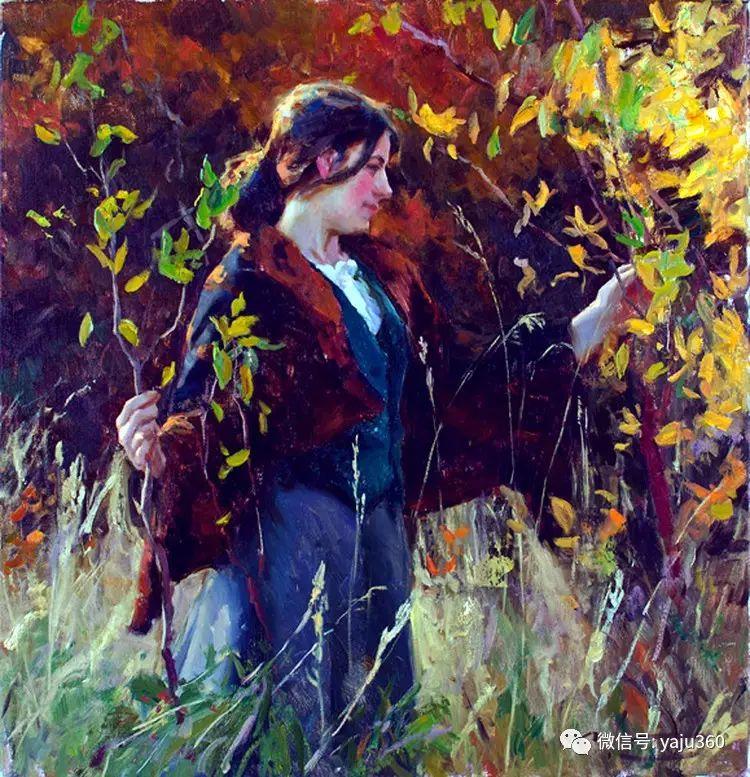 美国麦克马尔姆人物油画欣赏插图3
