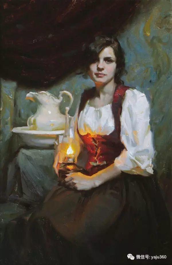 美国麦克马尔姆人物油画欣赏插图21