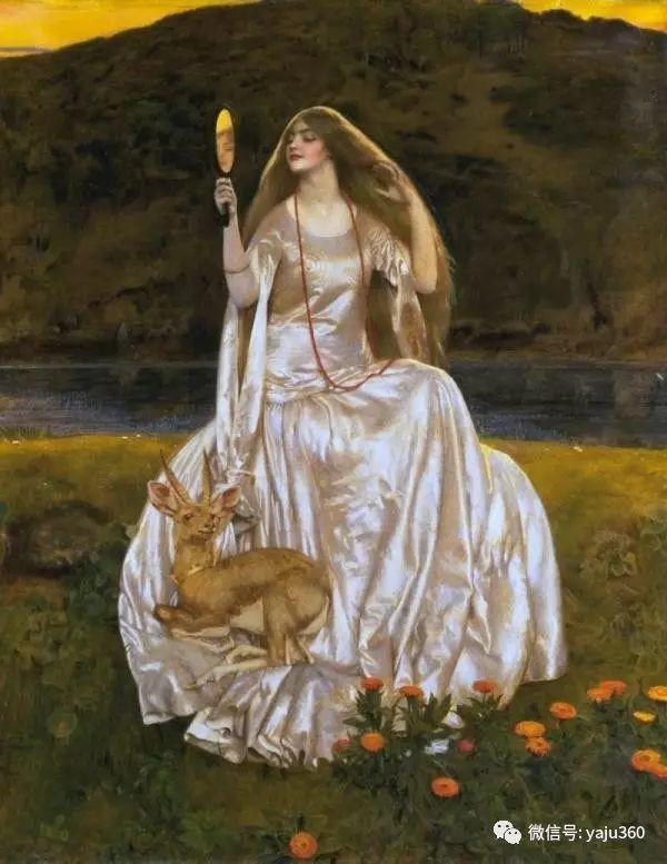 最后一位前拉斐尔画派的画家–弗兰克·卡多根·考伯插图7