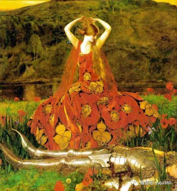 最后一位前拉斐尔画派的画家–弗兰克·卡多根·考伯插图13