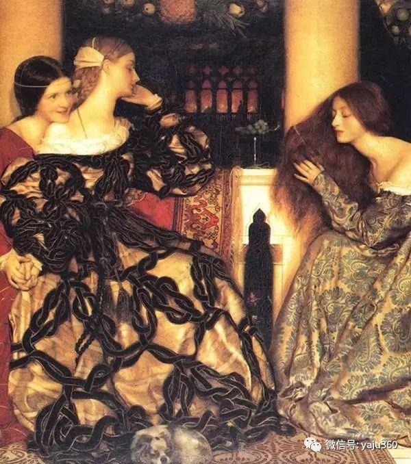 最后一位前拉斐尔画派的画家–弗兰克·卡多根·考伯插图15