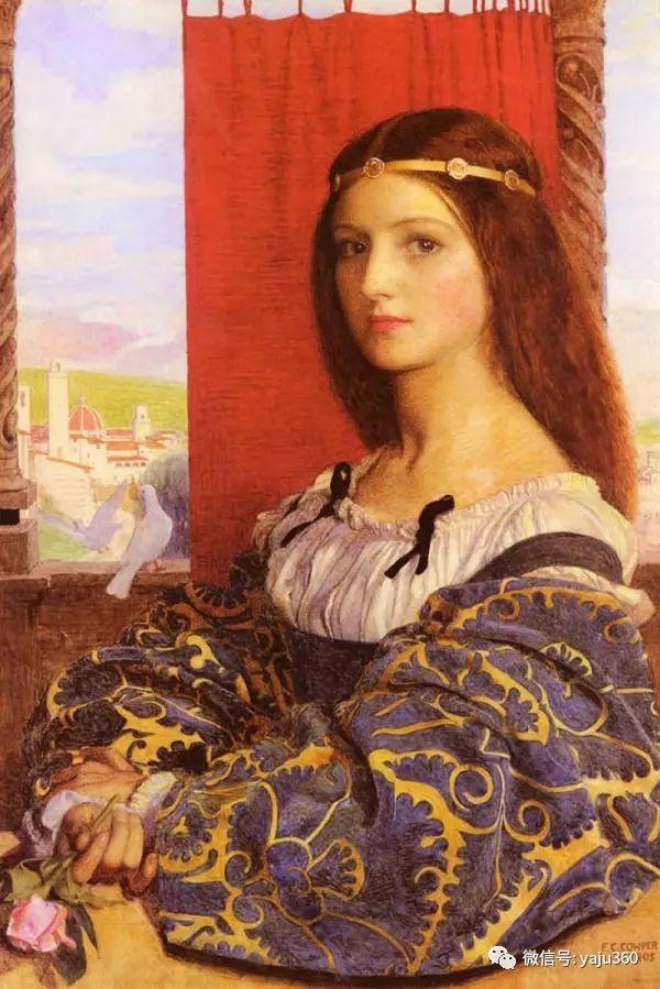 最后一位前拉斐尔画派的画家–弗兰克·卡多根·考伯插图17