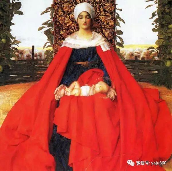 最后一位前拉斐尔画派的画家–弗兰克·卡多根·考伯插图23