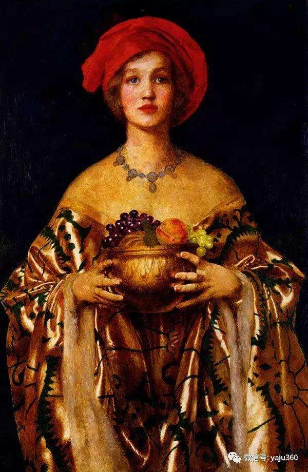 最后一位前拉斐尔画派的画家–弗兰克·卡多根·考伯插图25