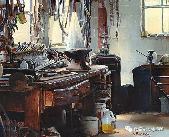 美国VictorMordasov绘画欣赏插图1