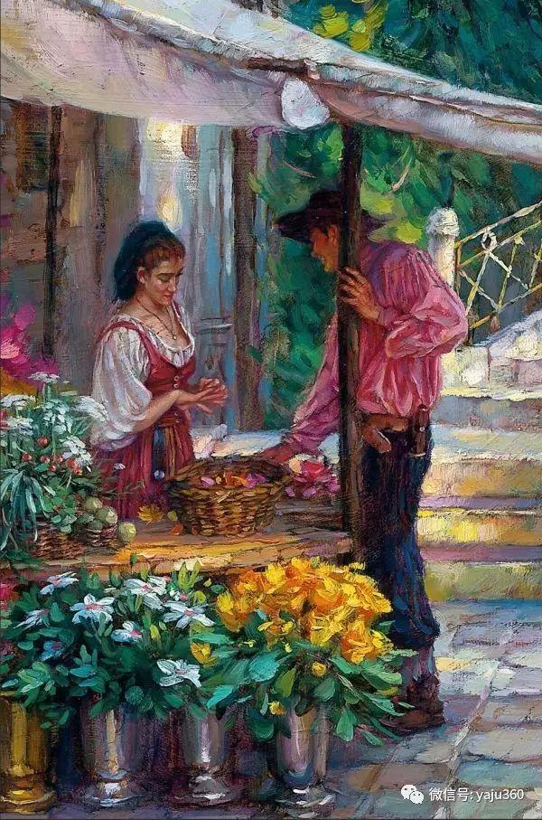 淳朴主题的油画欣赏插图19