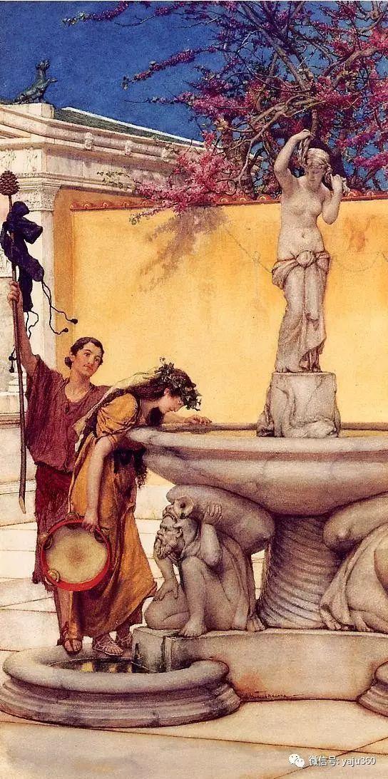 英国阿尔玛塔德玛古典主义绘画插图13