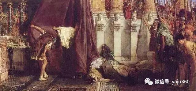 英国阿尔玛塔德玛古典主义绘画插图19
