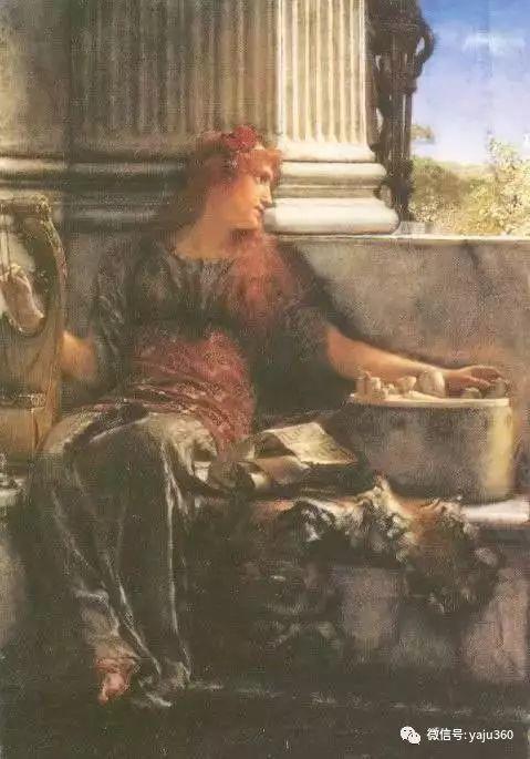 英国阿尔玛塔德玛古典主义绘画插图41