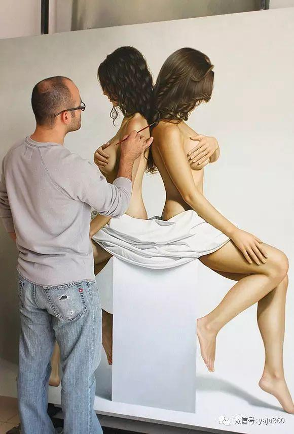 超写实人体油画欣赏插图1