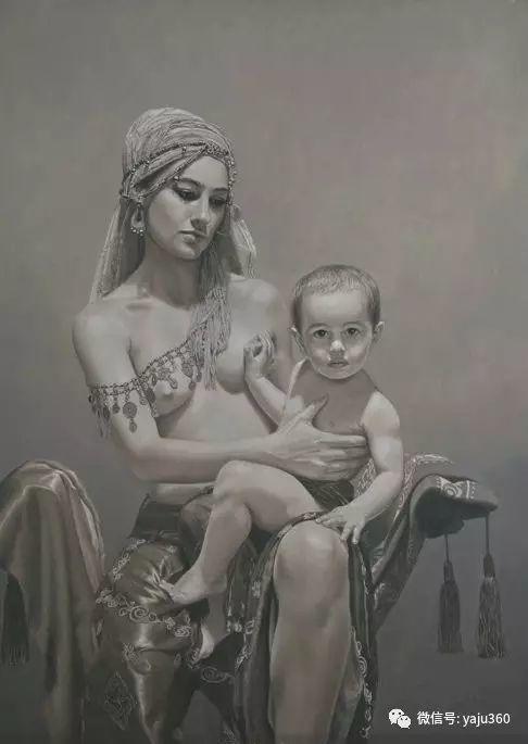 智利西芬特斯人物绘画欣赏插图31