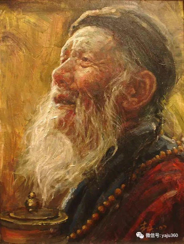 李庆油画人物作品欣赏插图1