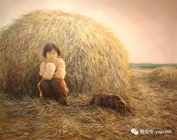 李庆油画人物作品欣赏插图3