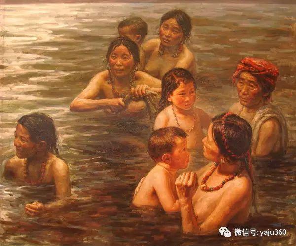 李庆油画人物作品欣赏插图5