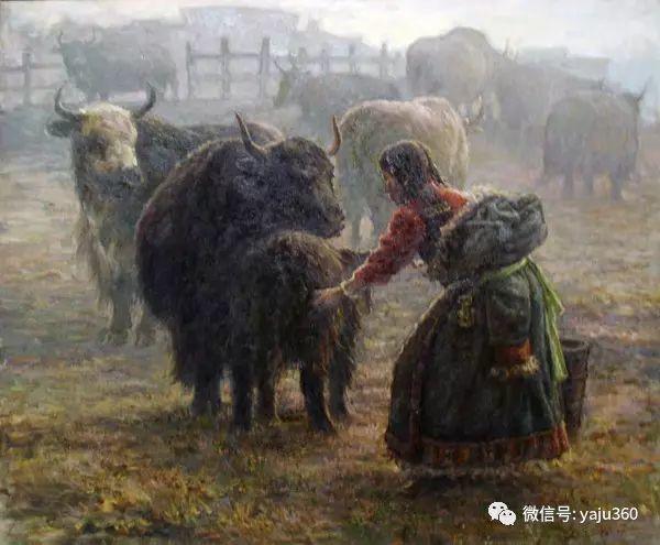 李庆油画人物作品欣赏插图7