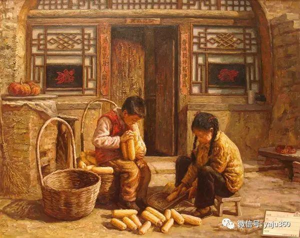 李庆油画人物作品欣赏插图11