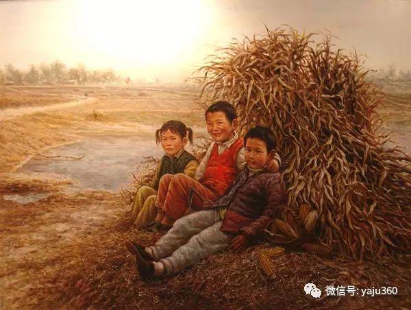 李庆油画人物作品欣赏插图13