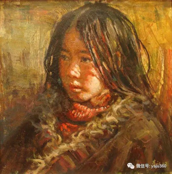 李庆油画人物作品欣赏插图15