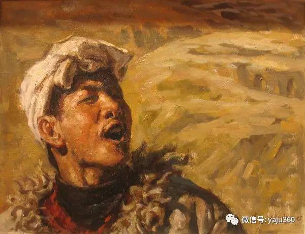 李庆油画人物作品欣赏插图21