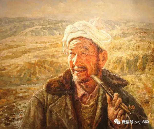 李庆油画人物作品欣赏插图31