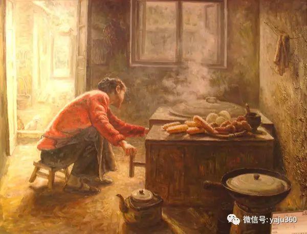 李庆油画人物作品欣赏插图37